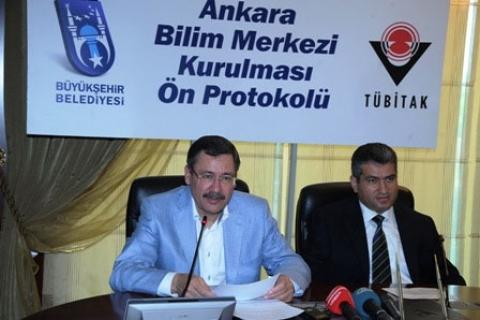 Ankara'ya Türkiye'nin En Büyük Bilim Merkezi Yapılacak!