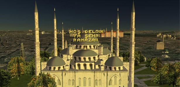 Ramazan Geldi 3 Boyutlu Sanal Camii Turu Başladı!