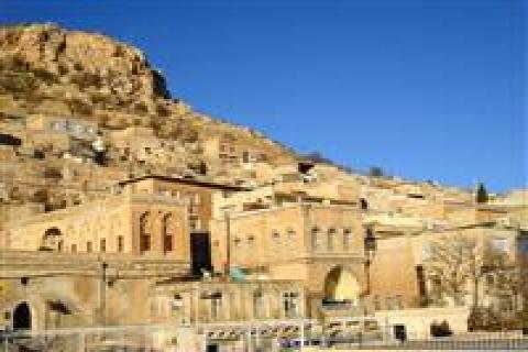 Sıcaklar Mardin'deki Turistleri Kaçırdı!
