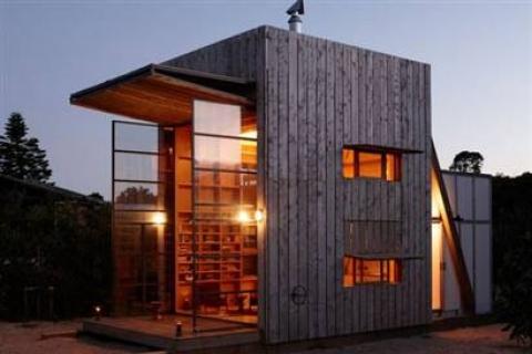 Yeni Zelanda'nın Gözdesi Taşınabilir Yazlık Evler!