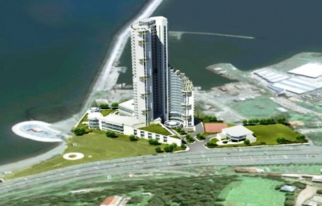 Amisos Antik Kentinin Limanına Yapılacak Otelin Temeli Atıldı!