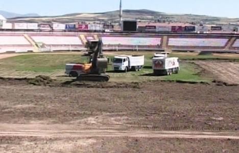 Atatürk Stadı'ndaki Yenileme Çalışmaları Sürüyor!