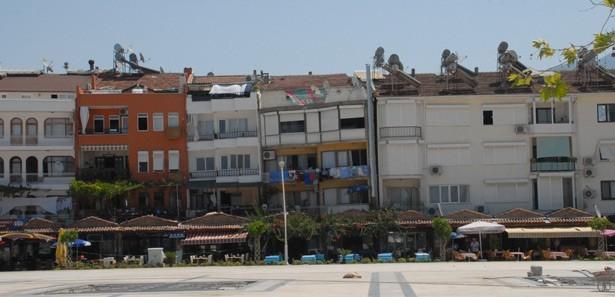 Fethiye'deki 'Sarhoş Binalar' Yıkılacak!