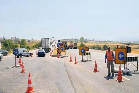 İstanbul'daki Yol Çalışmaları Bayramda Da Sürecek!