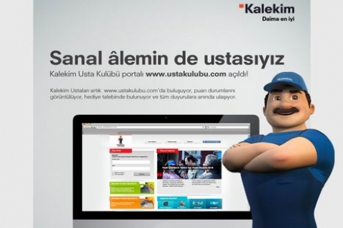 www.ustakulubu.com.tr Kalekim Usta Kulübü Portalı Açıldı!