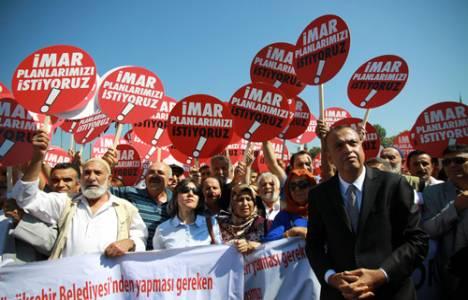 Ataşehir Halkı 1/5000'lik İmar Planı Reddini Protesto Etti!