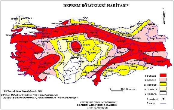 Deprem Haritası 16 Yıldır Yenilenmedi