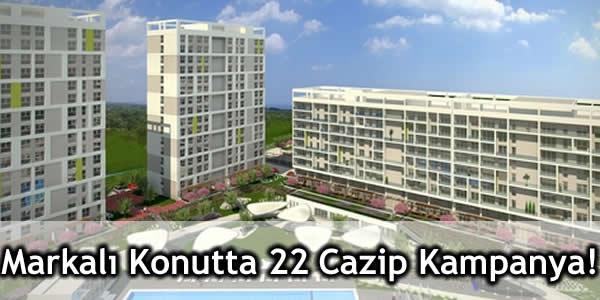 Markalı Konutta 22 Akıllı Bina ve Cazip Kampanya!