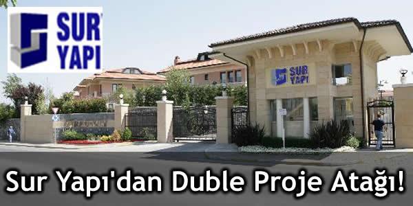 Sur Yapı'dan Duble Proje Atağı!