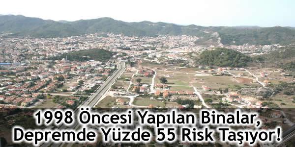 1998 Öncesi Yapılan Binalar, Depremde Yüzde 55 Risk Taşıyor!