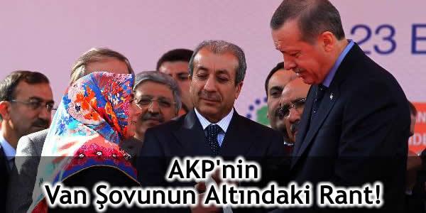 AKP'nin Van Şovunun Altındaki Rant!