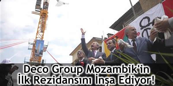 Deco Group Mozambik'in İlk Rezidansını İnşa Ediyor!