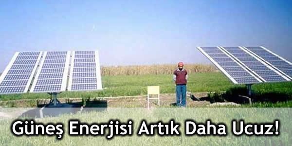 Güneş Enerjisi Artık Daha Ucuz!