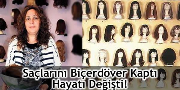 Saçlarını Biçerdöver Kaptı Hayatı Değişti!