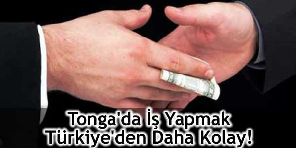 Tonga'da İş Yapmak Türkiye'den Daha Kolay!