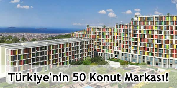 Türkiye'nin 50 Konut Markası!