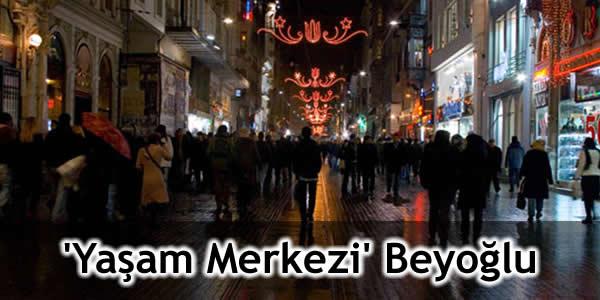 'Yaşam Merkezi' Beyoğlu