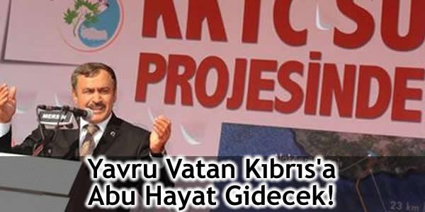 Yavru Vatan Kıbrıs'a Abu Hayat Gidecek!