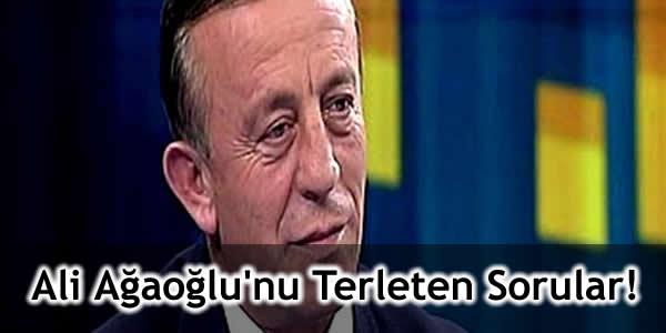 Ali Ağaoğlu'nu Terleten Sorular!