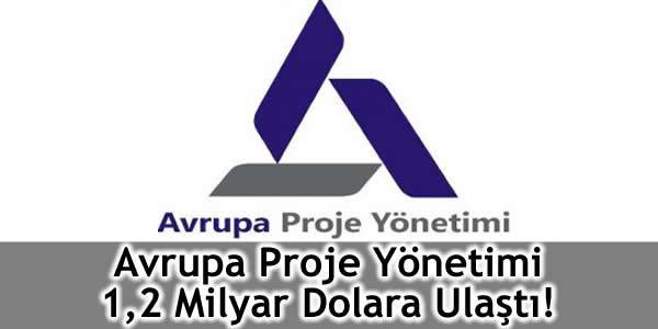 Avrupa Proje Yönetimi 1,2 Milyar Dolara Ulaştı!