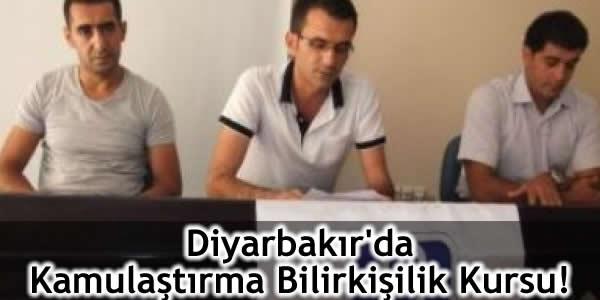 Diyarbakır'da Kamulaştırma Bilirkişilik Kursu Verildi!