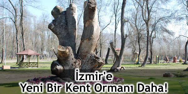 İzmir'e Yeni Bir Kent Ormanı Daha!