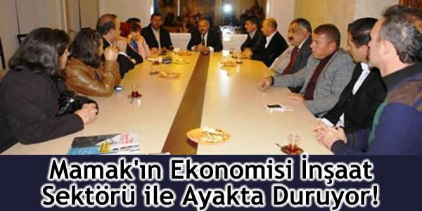 Mamak'ın Ekonomisi İnşaat Sektörü ile Ayakta Duruyor!