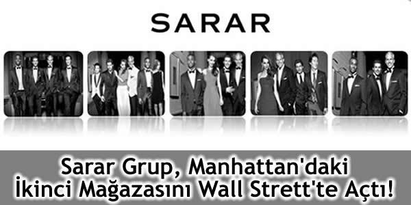 Sarar Grup, Manhattan'daki İkinci Mağazasını Wall Strett'te Açtı!