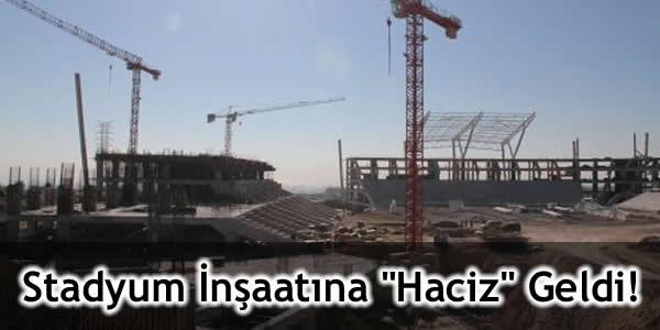 """Stadyum İnşaatına """"Haciz"""" Geldi!"""