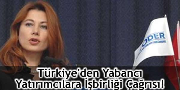Türkiye'den Yabancı Yatırımcılara İşbirliği Çağrısı!
