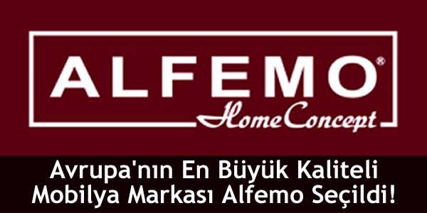 Avrupa'nın En Büyük Kaliteli Mobilya Markası Alfemo Seçildi!