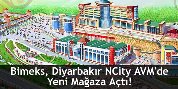 Bimeks, Diyarbakır NCity AVM'de Yeni Mağaza Açtı!