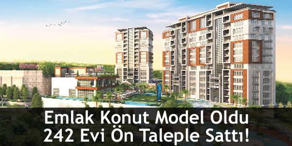 Emlak Konut Model Oldu 242 Evi Ön Taleple Sattı!