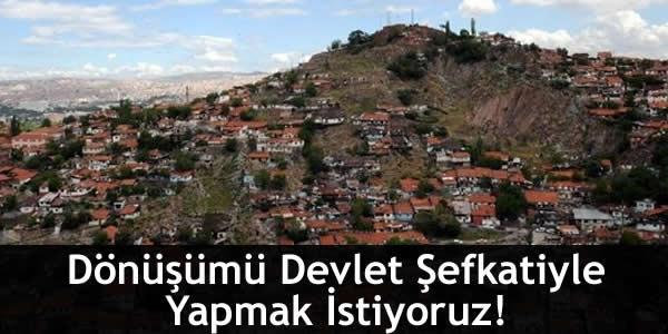 Erdoğan Bayraktar: Dönüşümü Devlet Şefkatiyle Yapmak İstiyoruz!