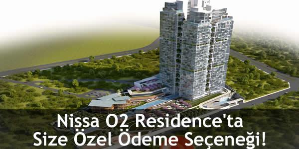 Nissa O2 Residence'ta Size Özel Ödeme Seçeneği!