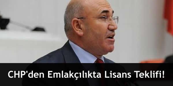 CHP'den Emlakçılıkta Lisans Teklifi!