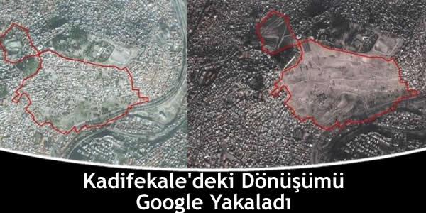 Kadifekale'deki Dönüşümü Google Yakaladı