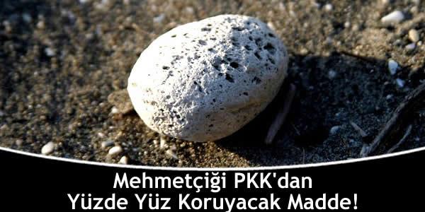 Mehmetçiği PKK'dan Yüzde Yüz Koruyacak Madde!