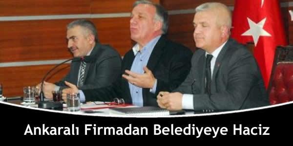 Ankaralı Firmadan Belediyeye Haciz