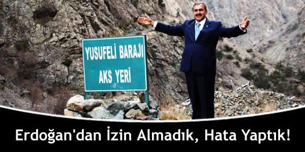 Erdoğan'dan İzin Almadık, Hata Yaptık!