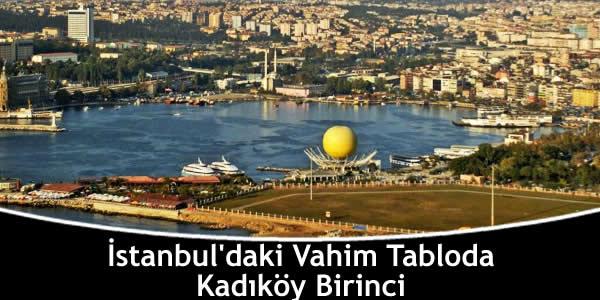 İstanbul'daki Vahim Tabloda Kadıköy Birinci