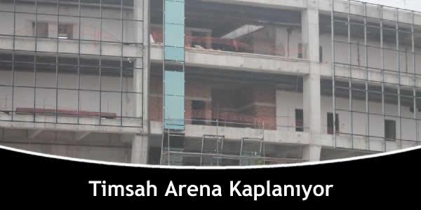 Timsah Arena Kaplanıyor