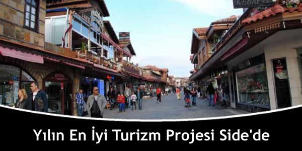 Yılın En İyi Turizm Projesi Side'de