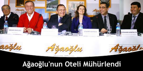 Ağaoğlu'nun Oteli Mühürlendi