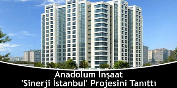 Anadolum İnşaat 'Sinerji İstanbul' Projesini Tanıttı