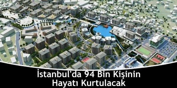 İstanbul'da 94 Bin Kişinin Hayatı Kurtulacak