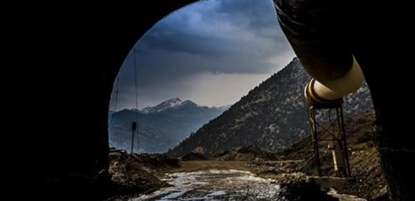 """Bu Tünelle 4 Dakikada """"İklim"""" Değişecek"""