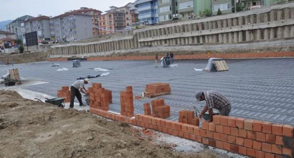 Karabük'te Yaşam Kompleksi İnşaatı