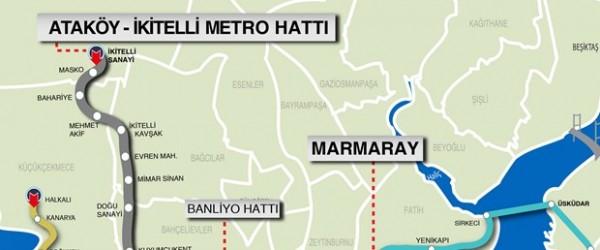 İki Önemli Metro Hattı Eylül'de Start Alıyor