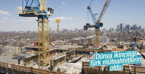 Dünyanın En Büyük İnşaat Şirketleri Listesinde 43 Türk